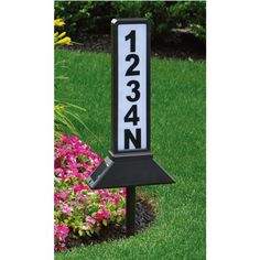 Moonrays 91919 Solar Powered Wireless LED Home Address Sign Light, Black Finish Illuminated House Numbers, Solar House Numbers, Landscaping Supplies, Front Yard Landscaping, Landscaping Ideas, Backyard Patio, Front Yard Decor, Landscaping Edging, Backyard Privacy