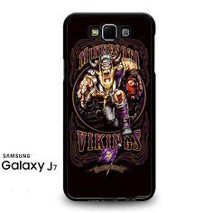 Minnesota Vikings Football Samsung Galaxy J7 Prime Case