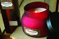 Hand Poured Traviata Scented Candles — Nothing smells better than these wonderfully aromatic, soy-based, hand-poured candles.