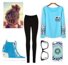 """""""Lazy Day"""" by emilyolson2019 on Polyvore featuring Oasis, Giuseppe Zanotti and Spitfire"""