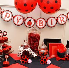 Ladybug Party Decorations | ladybug party ideas | Party All Ready