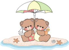 cutecolors.com | Cute Colors de Ursinhos | Imagens para Decoupage