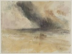 Joseph Mallord William Turner 'Storm at Sea', c.1845