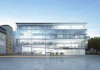 Innovationszentrum von HENN in Darmstadt / Kleeblatt mit Rampen - Architektur und Architekten - News / Meldungen / Nachrichten - BauNetz.de