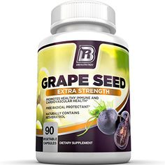 Immune System Boosters Natural, Vitamins For Skin, Grape Seed Extract, Be Natural, Natural Health, Health Remedies, Herbalism, Seeds, Veggies