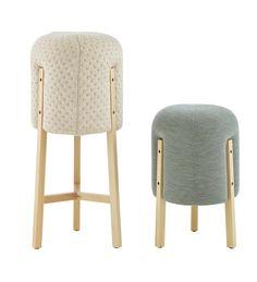 Con aires de boudoir Furniture Fix, Furniture Design, Tea Trolley, Multipurpose Furniture, Small Stool, Sofa Bench, Elle Decor, Bassinet, Bamboo
