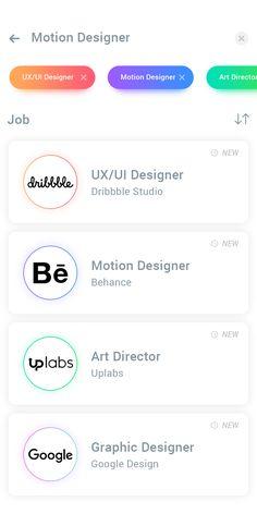 Designer Jobs App
