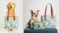 Disney released a collection of handbags featuring all its iconic good dogs