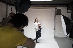 #Fotoshooting für eine Kundenpräsentation in unserem TWT Studio :)