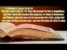 SATAN COPIES IT JUST LIKE THAT! A PERVERTED GOSPEL FULL OF LIES! (+playl...