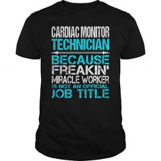 Awesome Tee For Cardiac Monitor Technician T-Shirts, Hoodies (22.99$ ==► Order Here!)