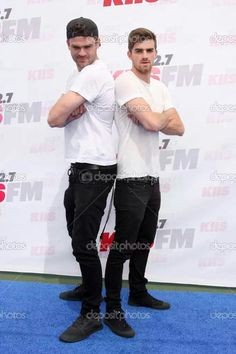 Alex Pall + Andrew Taggart = The Chainsmokers