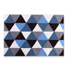 135,88 € Tapis BLUE ROMBO 140x200 (Tapis)