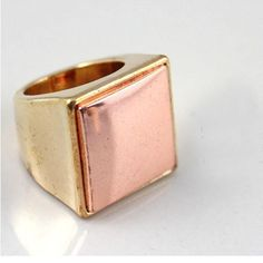 Brand Rose Gold Ring Surface Texture Ring DC7R501 $1.75