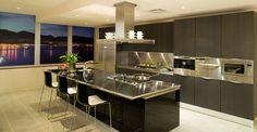 You should consider stainless steel kitchen countertops. Stainless steel kitchen countertops gives a modern elegant look to your kitchen. Stainless Steel Countertops, Stainless Steel Kitchen, Kitchen Countertops, Kitchen Cabinets, Black Cabinets, Kitchen Appliances, Kitchen Sinks, Countertop Backsplash, Granite Worktops