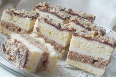 I když vypadá tento koláček složitě, je zcela jednoduchý. Krém s chutí vanilky a vrch ozdobený čokoládou.