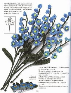 Many Crochet Flowers with charts- Picasa Web