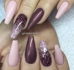Casket nails have become a huge trend this year, and there are so many stunning designs to choose from! Discover casket nails and how to rock them this season! Acrylic Nail Designs, Nail Art Designs, Elegant Nail Designs, Ombre Nail Designs, Casket Nails, Nagel Hacks, Nagellack Design, Luxury Nails, Super Nails