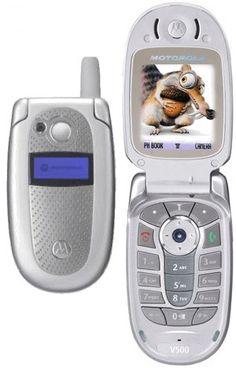 Motorola V500 my second cell phone