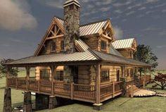 The Pipestone Floor Plan @ Avalon Log Homes. 3700 sf w/basement. Log Cabin Floor Plans, Log Home Plans, House Floor Plans, Barn Plans, Mountain Home Plans, Log Cabin Living, Log Cabin Homes, Log Cabins, Mountain Cabins