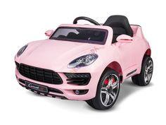 Novinky 2017!!! | elektrické autíčko - štýl Porsche Cayenne | Bábätkovo.eu Porsche, Pink, Self, Pink Hair