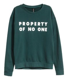 Sweatshirt with Printed Design | H&M Divided