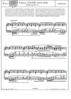 Prélude Op.28 No.6 >>> KLICK auf die Noten um Reinzuhören <<<