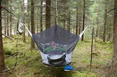 The hammock is one of the best ways to relax on a late Sunday afternoon in the backyard, but as a camping accessory it's simply non-functional. Fall asleep