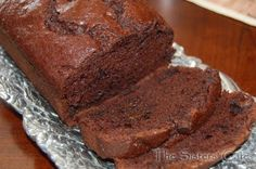 Um, yeah, it's GOOD!!      Double Chocolate Banana Bread | The Sisters Cafe