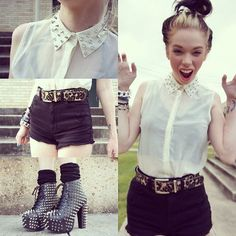 Most popular tags for this image include: cute! and grav3yardgirl