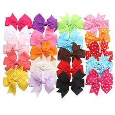 How To Make Easy No Sew Hair Bows- DIY Video Tutorials. I was browsing the internet and found some of the cutest DIY hair bows I have ever seen. I decided