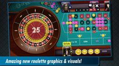 Love roulette? Then you can't go wrong with Live Roulette.  Come on in and spin the ball, place your bets and hold your breath to see if you'll win, enjoying the suspense and excitement of our full-on authentic Vegas feel. IOS & Android. Download it for free at http://www.abzorbagames.com/