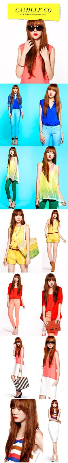 Camille Co for Mango Summer 2012