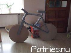 fiets ...van rolletjes ! Sinterklaas Surprises 2011 - Patries.nu