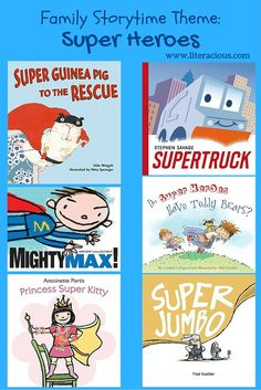 Super heroes are a crowd favorite, but rather than choose DC or Marvel super heroes, I found some really great stories about kids being super heroes. And as we were talking in storytime about what…