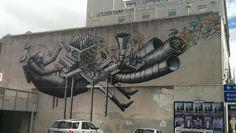 Dunedin Street Art NZ
