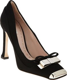 "MIU MIU ""WOW"" Metal Toe Pump"