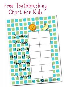 Free Tooth brushing Chart for Kids. #sponsored #Listerine