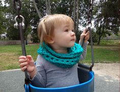 A personal favorite from my Etsy shop https://www.etsy.com/listing/398336685/pdf-twisted-toddler-cowl-crochetfits12