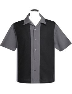 Steady Clothing Customs Mens Poplin Mid Panel custom shirt custom shirts custom bowling shirts custom buttons custom embroidery blank button up bowling shirts blank panel shirt
