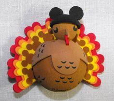 2ce4cd07971ad Disney Antenna Topper - Thanksgiving Holiday Turkey. Mickey Mouse Ears  HatDisney ...
