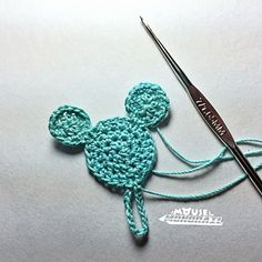 This pattern was published via my blog at www.mouseandmonorail.com and is free for personal use only, especially for those wishing to crochet fish extender items for their upcoming Disney cruise. Please do not make and sell these.