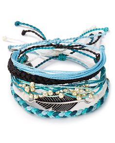 Pura Vida Bracelets Ocean Adventure Bracelets, Set of 5 | Bloomingdale's