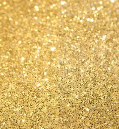 gold glitter is my favorite color