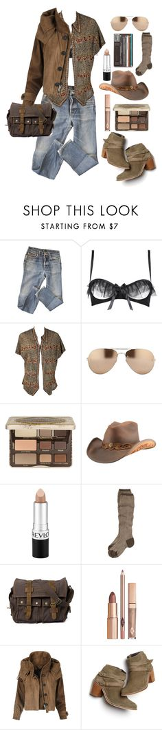 """""""23.09.17-2"""" by malenafashion27 ❤ liked on Polyvore featuring A.P.C., Lascivious, Linda Farrow, Too Faced Cosmetics, Revlon, Toast, Burberry and Monsoon"""