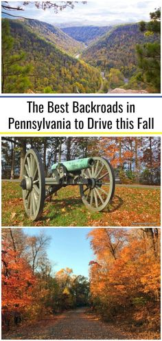 10 of the best fall foliage road trips in Pennsylvania East Coast Road Trip, Road Trip Usa, Day Trips In Pa, Back Road, Beautiful Places To Visit, Travel Usa, Places To Go, Autumn, Geodesic Dome