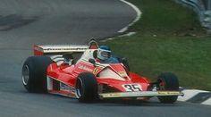 Carlos Reutemann, Ferrari 312T2, #35, (finished 9th)   Italian GP,  Monza, 1976.