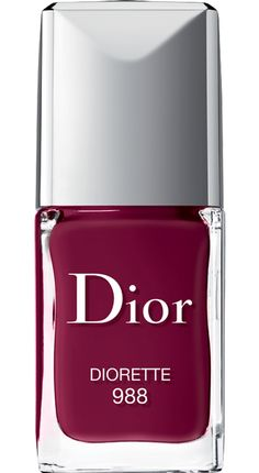 DIOR Dior Vernis Couture Colour - Gel Shine And Long Wear Nail Lacquer 10ml 988 - Diorette