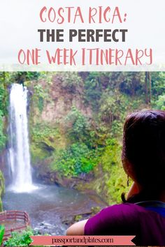 Planning a week long trip to Costa Rica? Look no further - this is the perfect one week costa rica itinerary that includes adventure, beaches, and wildlife. Honduras, Voyage Costa Rica, Costa Rica Travel, Monteverde, Puntarenas, Belize, Costa Rican Food, Tips & Tricks, South America Travel