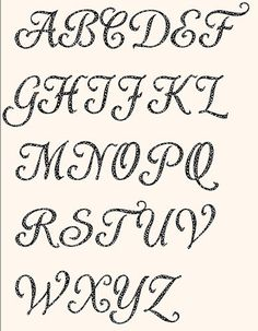 Printable Alphabet Shardee Font template pattern in by lintin